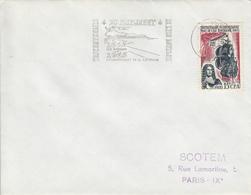 REUNION  Peuplement De L'Ile Bourbon  LE PORT  26 Novembre 1965 Flamme - Réunion (1852-1975)