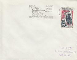 REUNION  Peuplement De L'Ile Bourbon  SAINT PAUL  3 Octobre 1965   Flamme - Réunion (1852-1975)