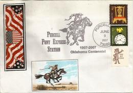 Pony Express National Historic Trail,from St. Joseph, Missouri, To Sacramento, California , Letter - Post
