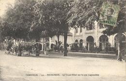 CPA Cambodge Pnom-Penh Le Grand-Hôtel Sur Les Quais Lagrandière - Kambodscha