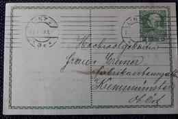 Kaiserreich 1909, Private Postkarte LINZ - Stamped Stationery