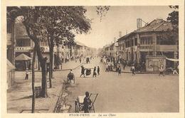 CPA Cambodge Pnom-Penh La Rue Ohier - Cambogia