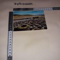 C-85542 ISOLA DEI NURAGHI BARUMINI VILLAGGIO NURAGICO PANORAMA - Andere Steden