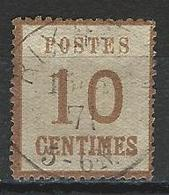 Norddeutscher Postbezirk Elsass-Lothringen Mi 5 II O - Conf. De L' All. Du Nord
