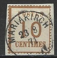 Norddeutscher Postbezirk Elsass-Lothringen Mi 5 II O - Norddeutscher Postbezirk