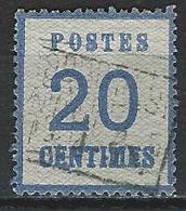Norddeutscher Postbezirk Elsass-Lothringen Mi 6 I O - Norddeutscher Postbezirk (Confederazione Germ. Del Nord)