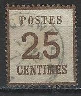 Norddeutscher Postbezirk Elsass-Lothringen Mi 7 I O - Norddeutscher Postbezirk (Confederazione Germ. Del Nord)