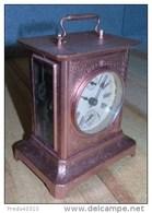 Horloge Réveil Kienzle (type Pendule D'officier) - Semble Fonctionner - A Examiner Par Spécialiste - TRES RARE - Wandklokken