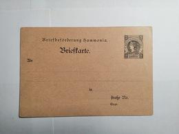 Briefbeforderung Hammonia - Allemagne
