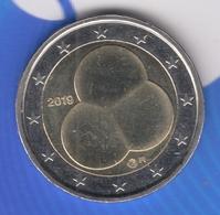 @Y@  4 X  Finland 2 Euro 2019   Hallitusmuoto  100 Jaar Grondwet ,  (5-6-7-8) - Finland