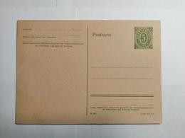 Deutsche Postkarte - Allemagne