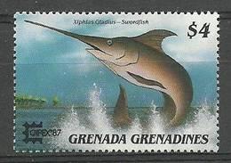 Grenada And Grenadines 1975 Mi 899 MNH ( LZS2 GGR899 ) - Peces