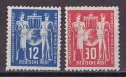 Gs_ DDR - Mi.Nr. 243 - 244 - Postfrisch MNH - [6] Oost-Duitsland