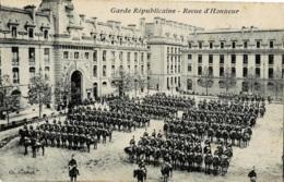 Garde Républicaine Revue D'Honneur Circulée En 1907 - Régiments