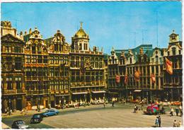 Bruxelles - Grand Place - & Old Cars - Bruxelles-ville