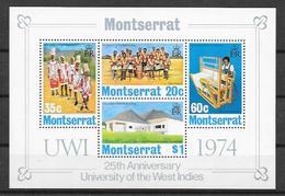 Montserrat N° Bloc 4 YVERT NEUF ** - Montserrat