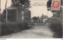 35. Ille Et Vilaine : Romazy : Ancienne  Chapelle Et Entrée Du Chateau  De Montmoron . - Altri Comuni