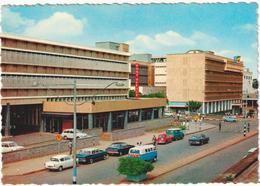 East Africa - Kampala Road Uganda - & Old Cars, Postal Services, Architecture - Uganda