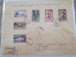 Belle Lettre En Recommandée De SIDI BEL ABBES - Algeria (1924-1962)