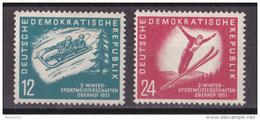 Gs_ DDR 1951 - Mi.Nr. 280 - 281 - Postfrisch MNH - Nuovi