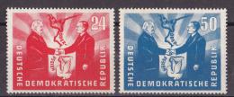 Gs_ DDR 1951 - Mi.Nr. 284 - 285 - Postfrisch MNH - Nuovi