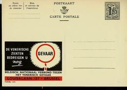 Publibel Neuve N° 1322  ( Les Maladies Vénériennes Vous Menacent  !!!) En NL - Publibels