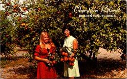 Florida Bradenton Christian Retreat Conference Grounds Picking Oranges - Bradenton