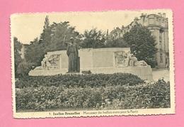 C.P. Ixelles =  Monument Aux  Morts  1914-1918 - Ixelles - Elsene