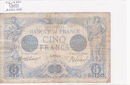 Billet De 5 Francs Bleu Du 06/04/1916 Taureau - D.11233 Alph 090 @ N° Fayette : 2.38 - 1871-1952 Circulated During XXth