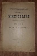 NOTICE SOCIETE DES MINES DE LENS Pas De Calais Exposition Universelle 1900 - Picardie - Nord-Pas-de-Calais