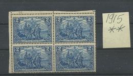 93.A ** Superbe Bloc De 4 Cote 60,- Euros - Unused Stamps