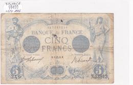 Billet De 5 Francs Bleu Du 15/09/1916 Balance - N.13912 Alph 349 @ N° Fayette : 2.43 - 1871-1952 Circulated During XXth