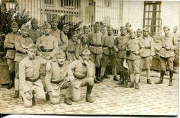 N°3027 T -carte Photo Soldats  -Versailles- - Régiments