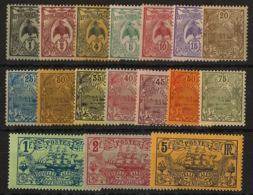 Nouvelle Calédonie - 1905-07 - N°Yv. 88 à 104 - Série Complète - Neuf Luxe ** / MNH / Postfrisch - Nuevos