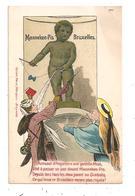 Bruxelles-Manneken-Pis-- Parapluie--(D.5048) - Monuments, édifices
