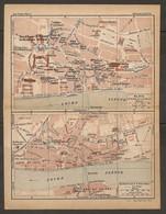 CARTE PLAN 1925 BLOIS PLAN D'ENSEMBLE BLOIS CENTRE VILLE - Mapas Topográficas