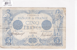 Billet De 5 Francs Bleu Du 21/11/1916 Sagitaire - C.15027 Alph 978 @ N° Fayette : 2.45 - 1871-1952 Circulated During XXth