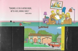SPAIN, 2019, MNH, TELEVISION, THE SIMPSONS, S/SHEET - Art
