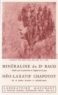 BUVARD PRODUIT PHARMACEUTIQUE ANNÉES 60 / MINERALINE / LABORATOIRE MAUCHANT / HYGIENE DE LA PEAU / PARIS - Produits Pharmaceutiques
