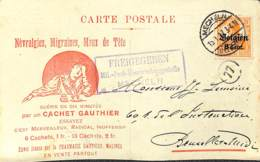 Mechelen, Cachets Gauthier - [OC1/25] Gen.reg.