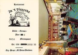 Nieuwpoort Reklame ReclameRestaurant In't Visserke Salon Europa   Barry 5148 - Nieuwpoort