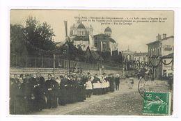Cpa (01) Ars. Cinquantenaire .2 Août 1909. Coeur Du Bx Vianney. (B1.002) - Ars-sur-Formans