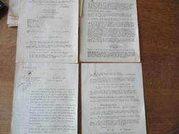LILLE LE 3 AVRIL 1941 LE PREFET DU NORD  REGLEMENTATION PROVISOIRE DE LA VENTE DE VÊTEMENTS ET D'ARTICLES TEXTILES - Historische Dokumente
