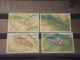 FIJI - 2000 INSETTI 4 VALORI - NUOVI(++) - Fiji (1970-...)