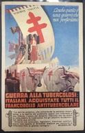VOLANTINO FASCISTA LOTTA ALLA TUBERCOLOSI - Documenti Storici