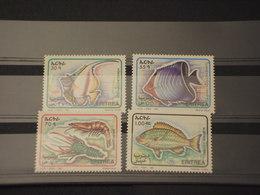 ERITREA - 1995 FAUNA MARINA 4 VALORI - NUOVI(++) - Eritrea