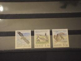 ESTONIA - 1995 UCCELLI 2 + 1 VALORI - NUOVI(++) - Estonia