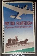 MOSTRA FILATELICA MILANO 1946 - Esposizioni