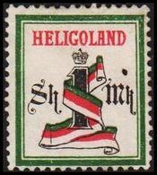 1879-1889. HELGOLAND. Band Von Helgoland. 1 Sh - 1 MK. () - JF320749 - Heligoland (1867-1890)
