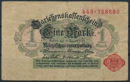 Darlehenskassenschein 1914 - 1 Mark - Circulated - [ 2] 1871-1918 : Empire Allemand